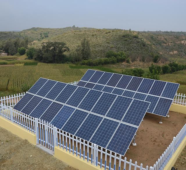 太阳能电池板阵列