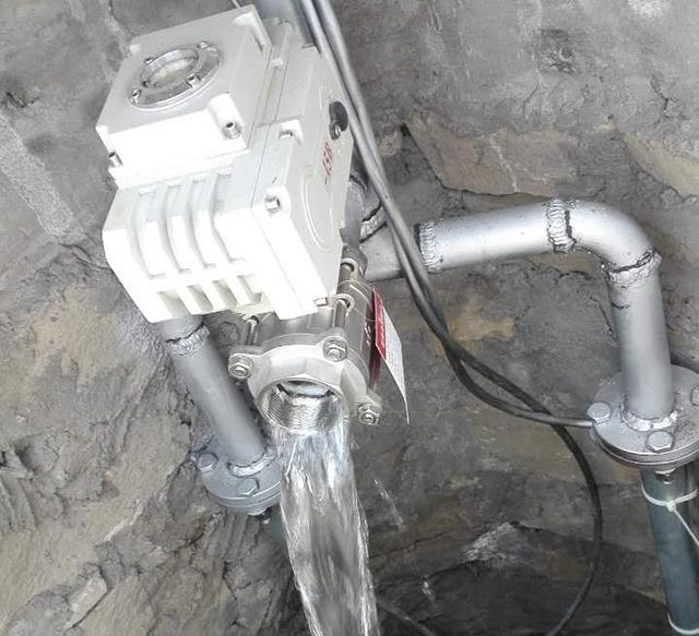 北京自主研发的自温控式控制自动排水试验