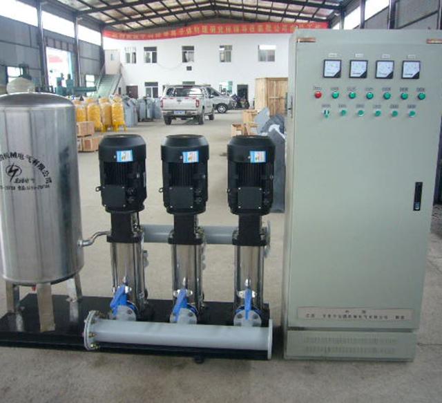千户型不锈钢全自动变频供水设备
