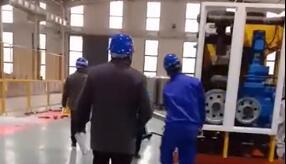 ITER-PF超导导体缩径机压缩导体实验03