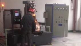 喷带机喷制(窄带)工作视频