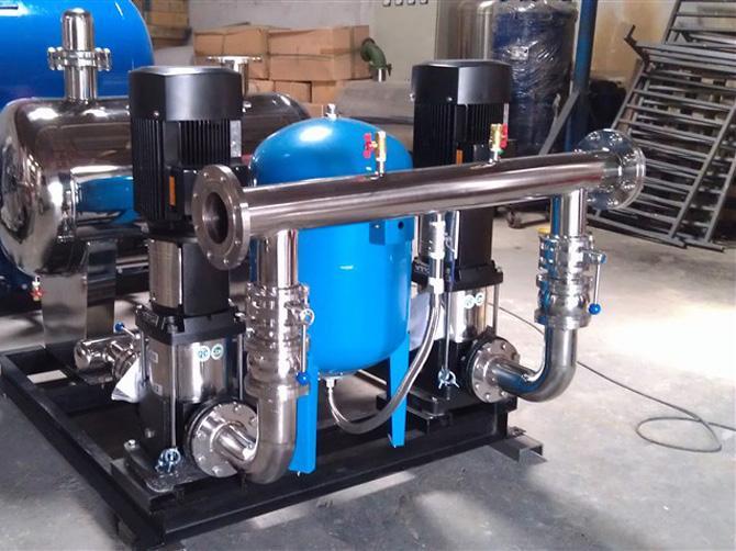 供水设备中水泵效率下降的五大原因