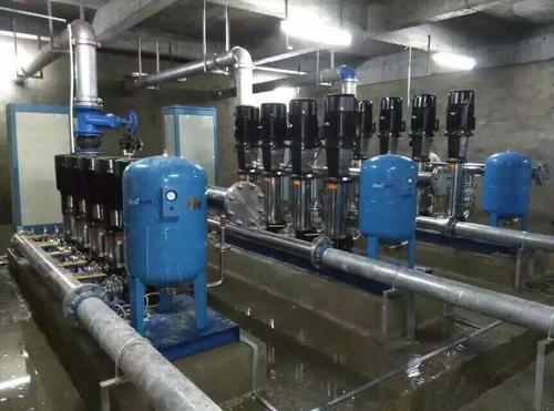 变频供水设备安装使用说明