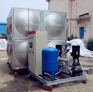 无负压二次供水方式解决水质污染