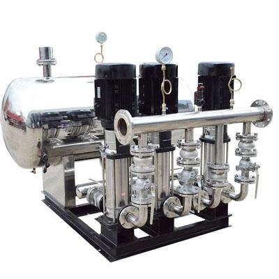 无负压供水设备的一些优势
